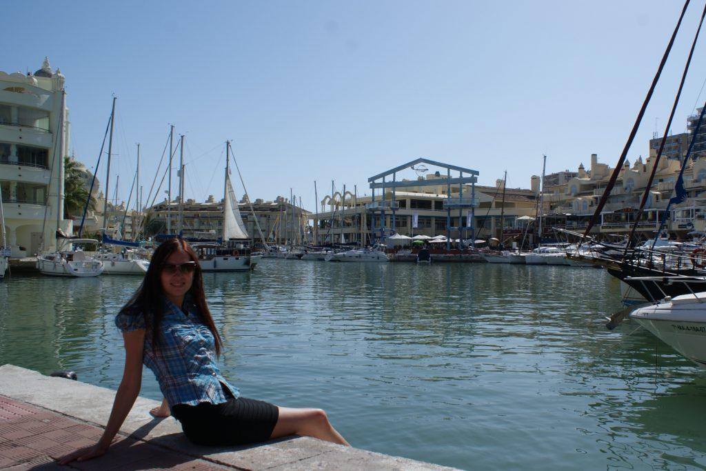 В порту Бенальмадены