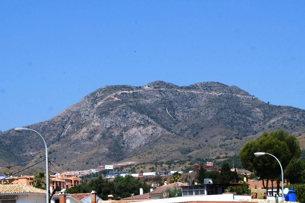 В Андалусии есть горы, я не знала почему-то