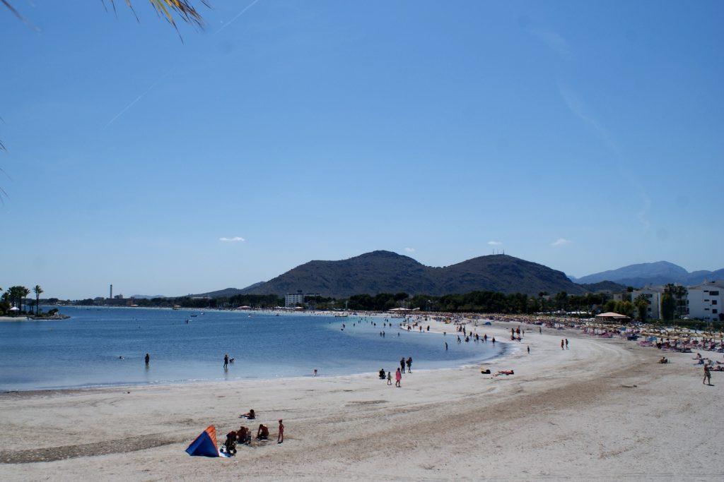 Пляж в Алькудии