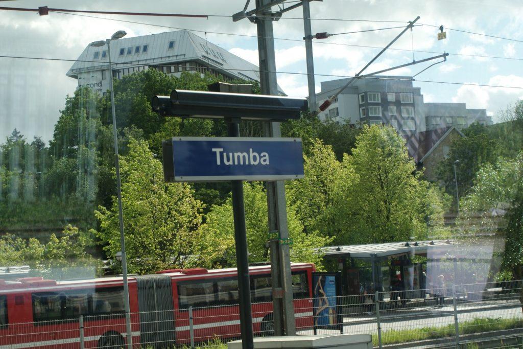 Приехали в пригород, называется Тумба. Почему бы и нет?