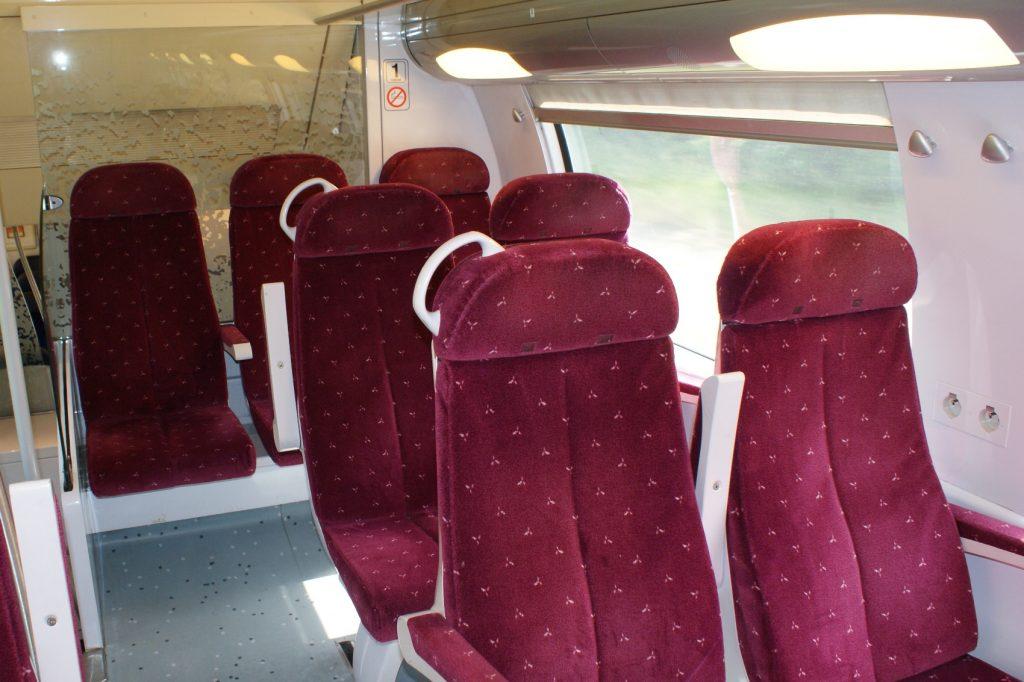 Поезда, которые ходят по Франции