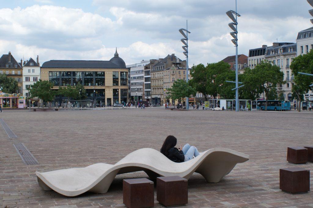 Прекрасные скамейки