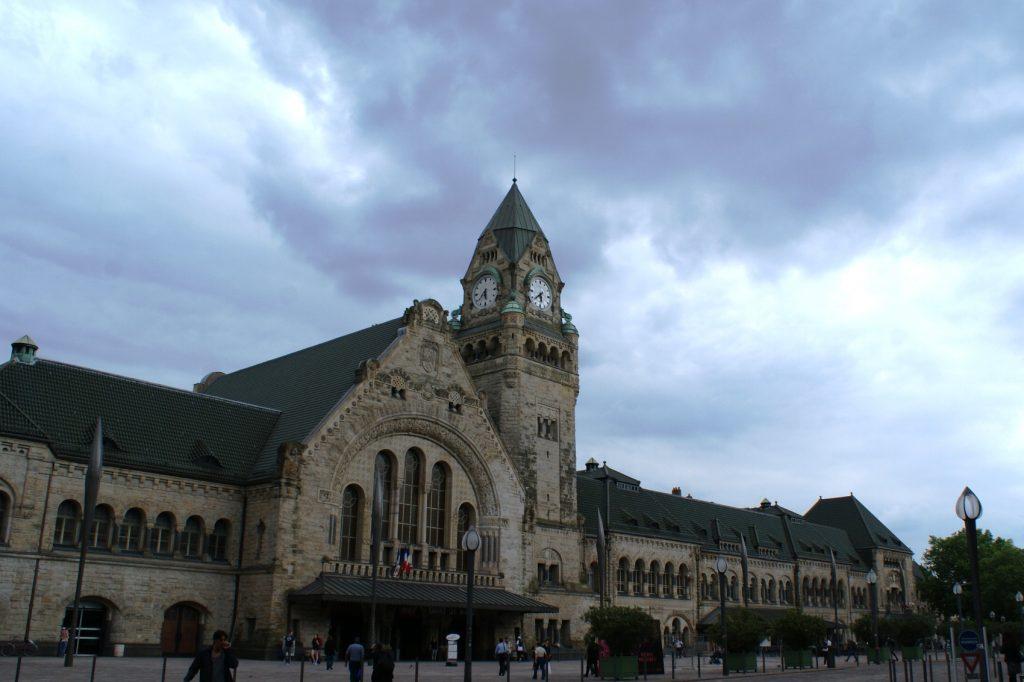 Вокзал очень красивый и старый