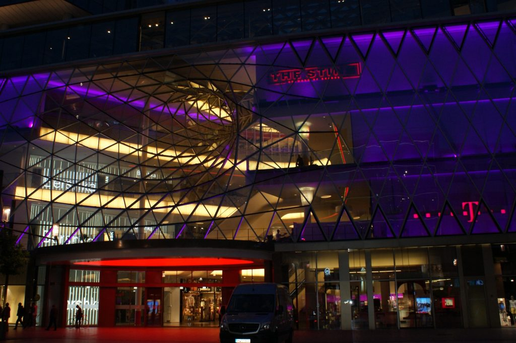 Ночной Франкфурт-на-Майне