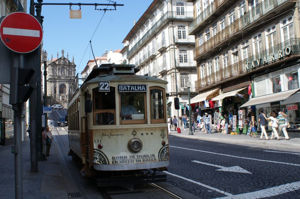 Как же без старых трамваев?