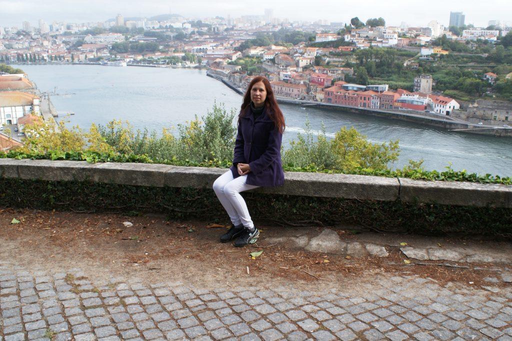 Здесь очень много мест, откуда виден прекрасный Порту