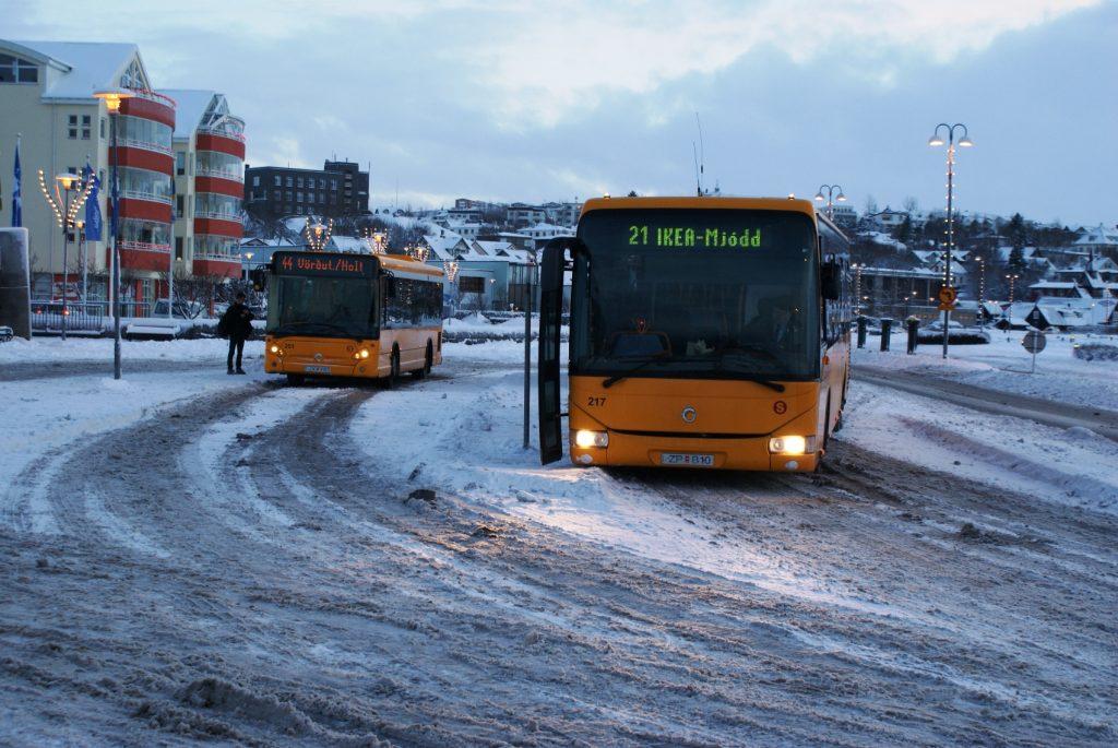Веселые автобусы