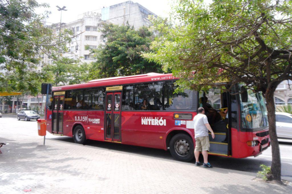 Автобусы в Нитерое куда спокойнее