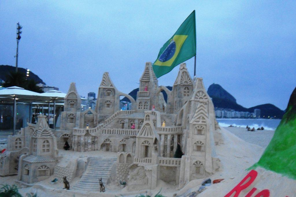 Шикарные песчаные скульптуры