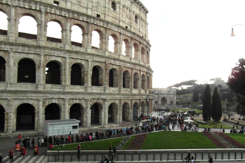 Колизей в другой день