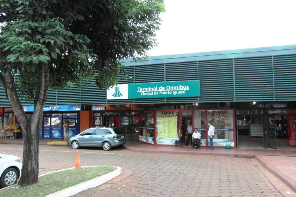 Автостанция в Пуэрто-Игуасу
