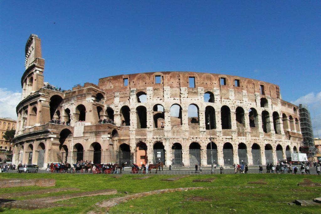 И еще Колизей в другой день