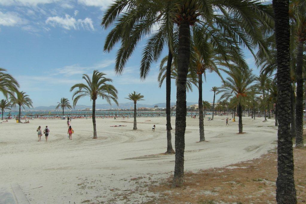 Пляж в Эль-Аренале