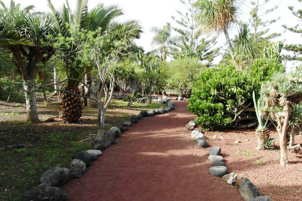 Очень красивый парк недалеко от пляжа