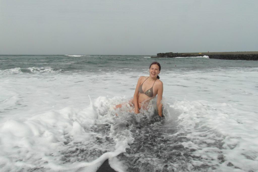 Обожаю волны!