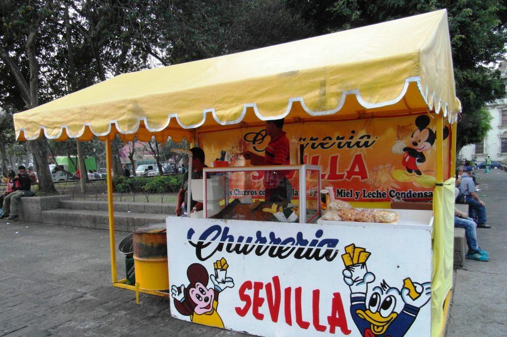Вкусняшки в Гватемале