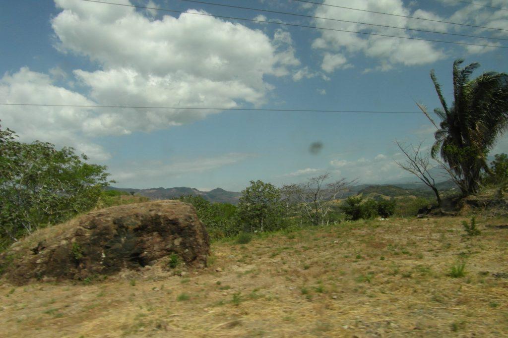 А вот такие поля в Никарагуа