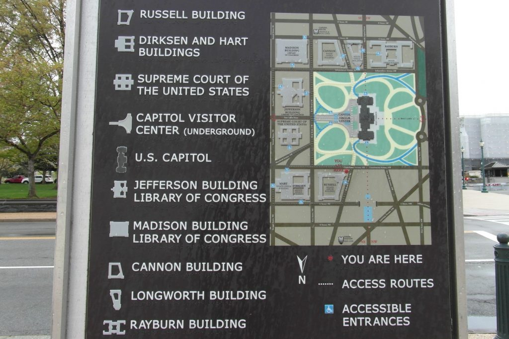 Удобный центр в Вашингтоне, все размещено и подписано