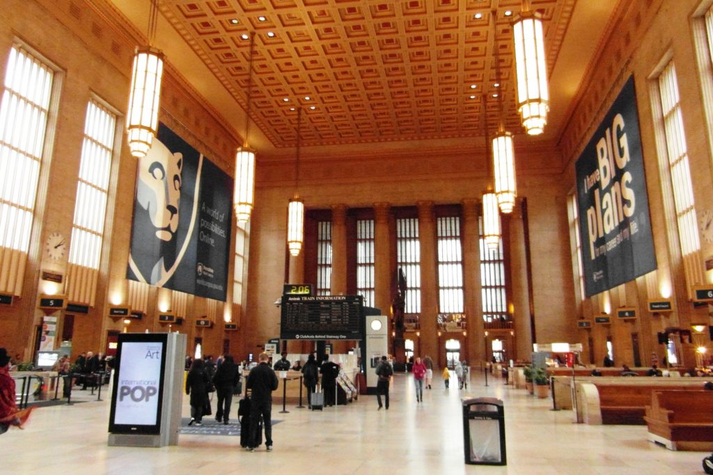 Больше всего, к сожалению, в Филадельфии мне понравился вокзал