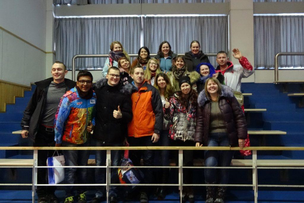 Часть российских волонтеров