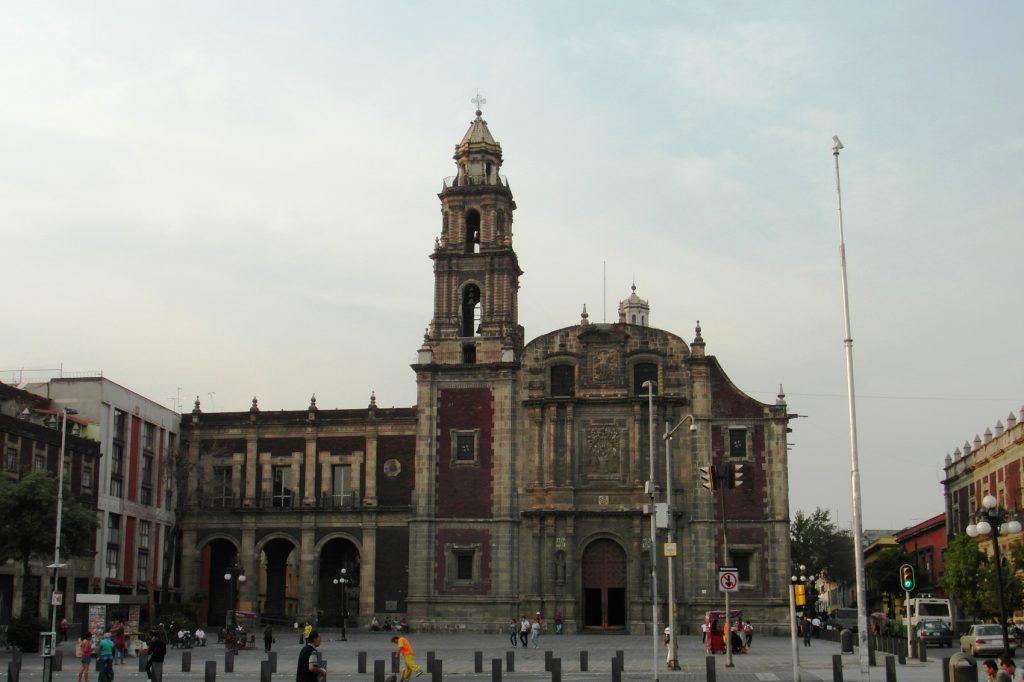 Одно из самых красивых мест в Мехико