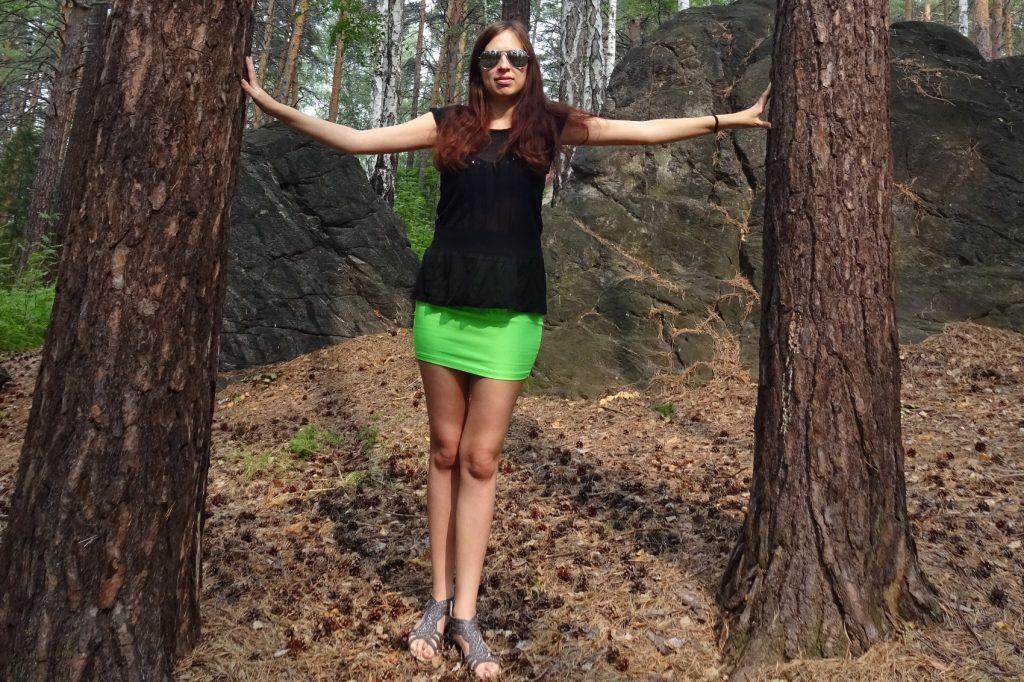 Я в лесу не так уж часто бываю, надо ловить момент
