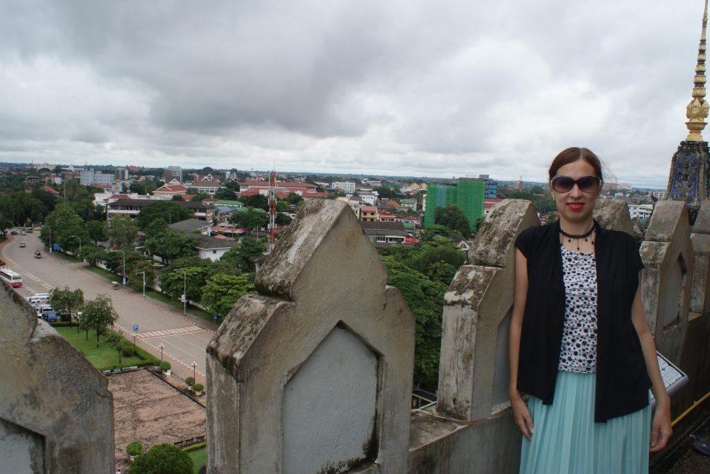 На смотровой площадке Триумфальной арки