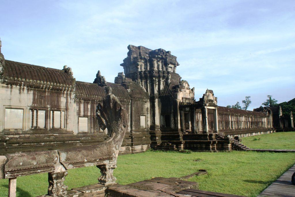 Одна из частей Ангкор-Вата