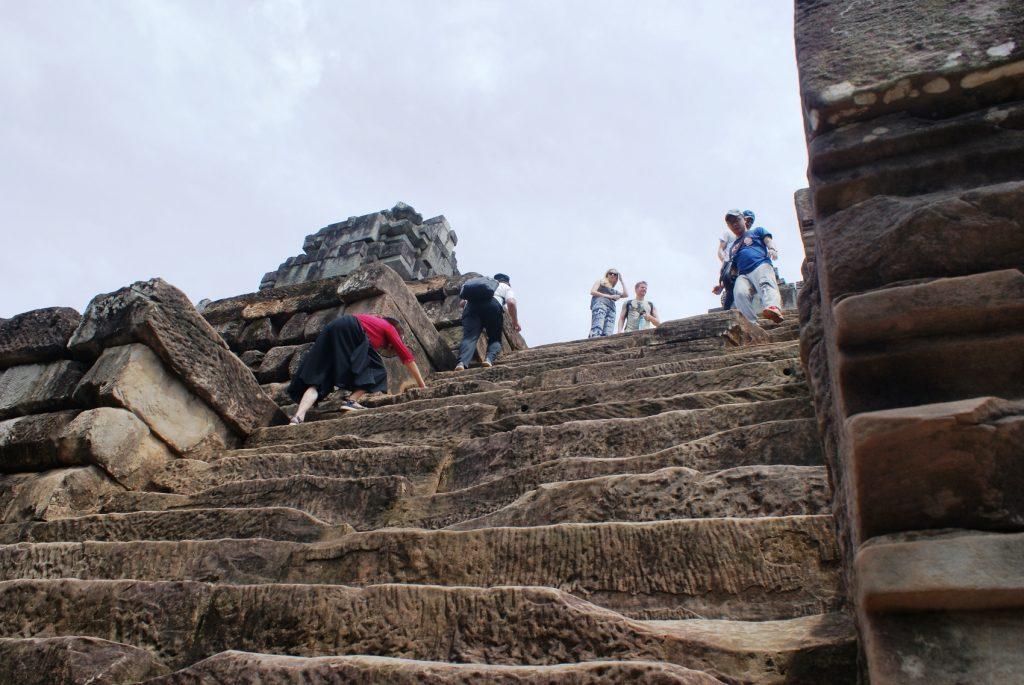 Ну и лестница!