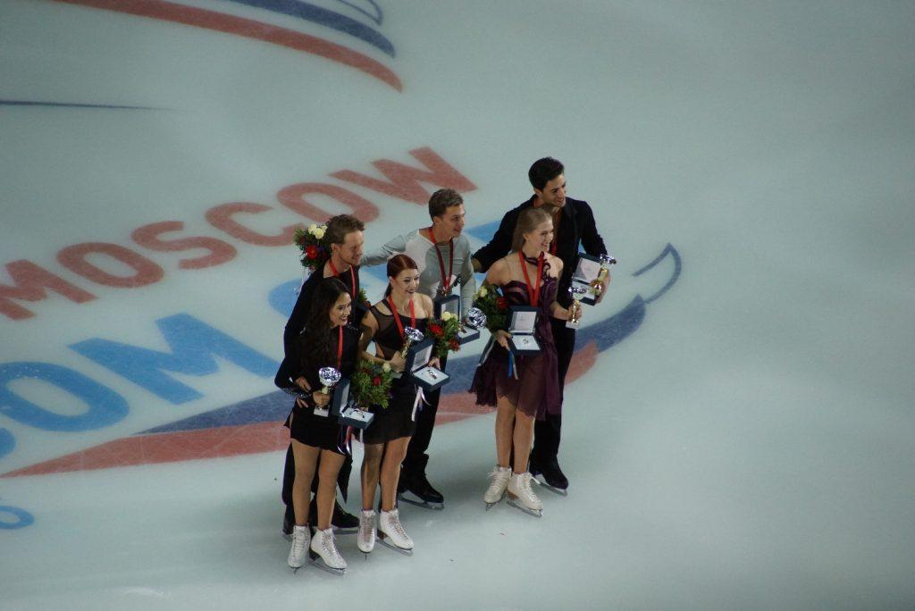 Победители и призеры в танцах на льду