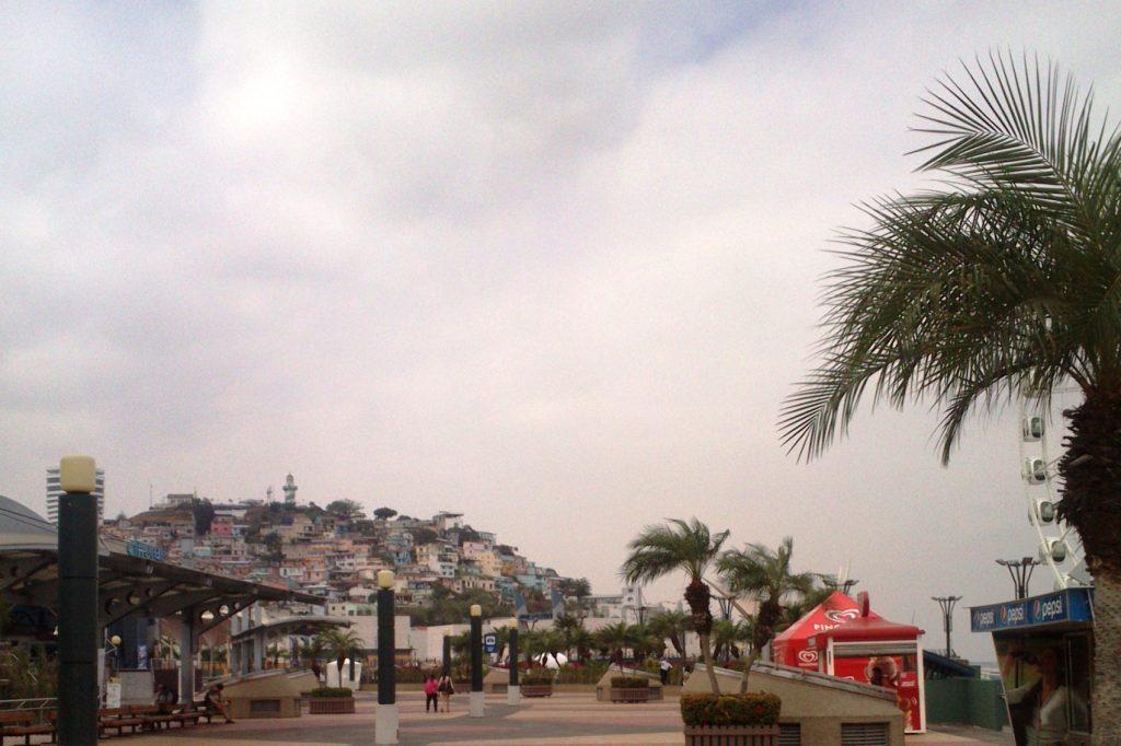 Впереди - хлом Санта-Ана