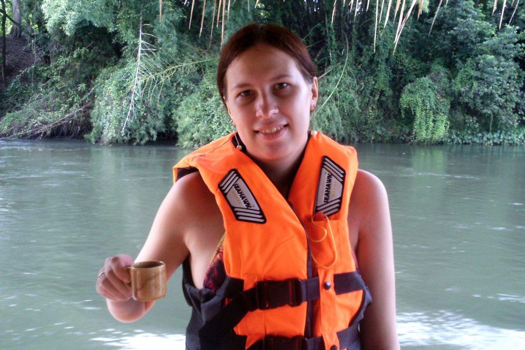 Перед сплавом пьем традиционный чай