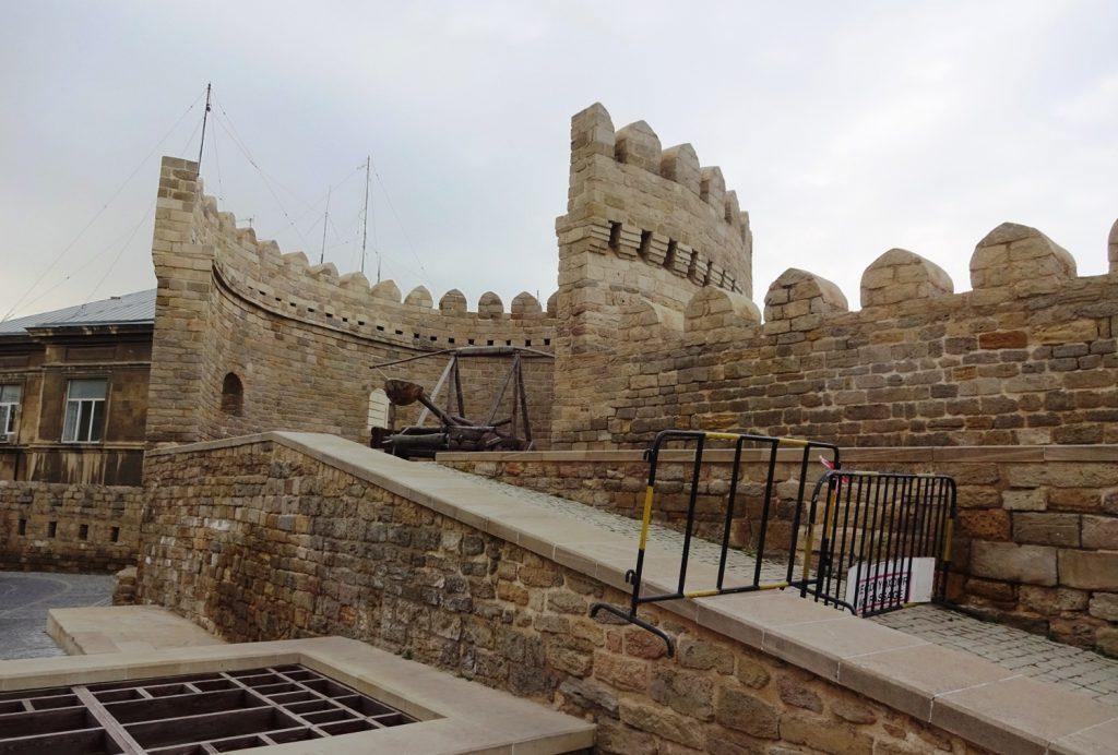 Ичери-шехер, он же просто Крепость, он же «старый город»