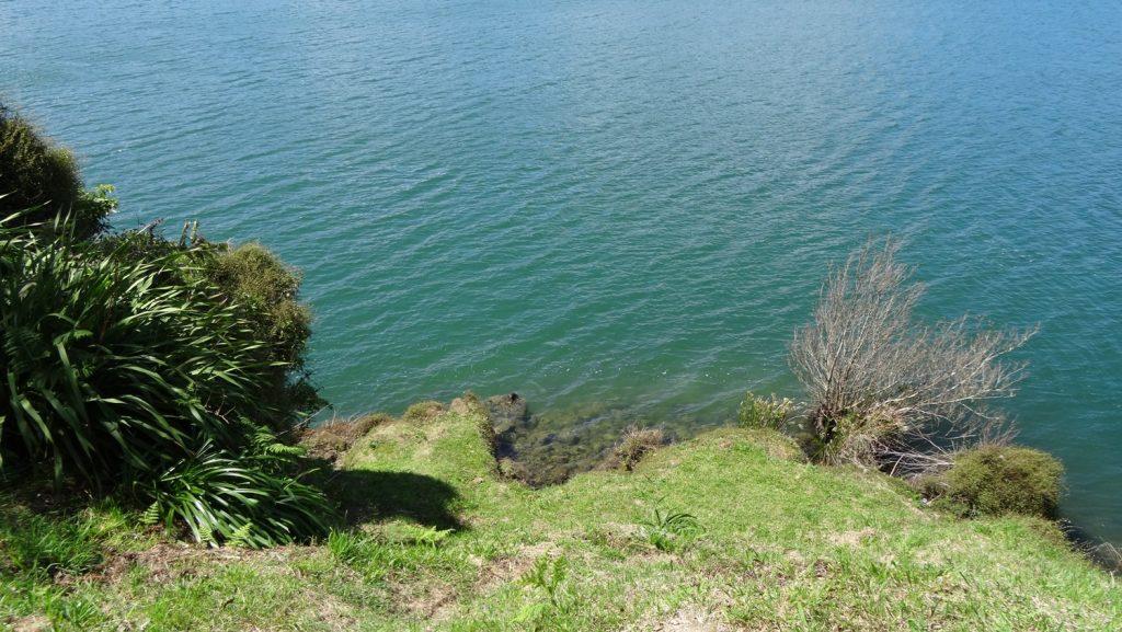 Лазурная водичка. На самом деле это зеленое озеро