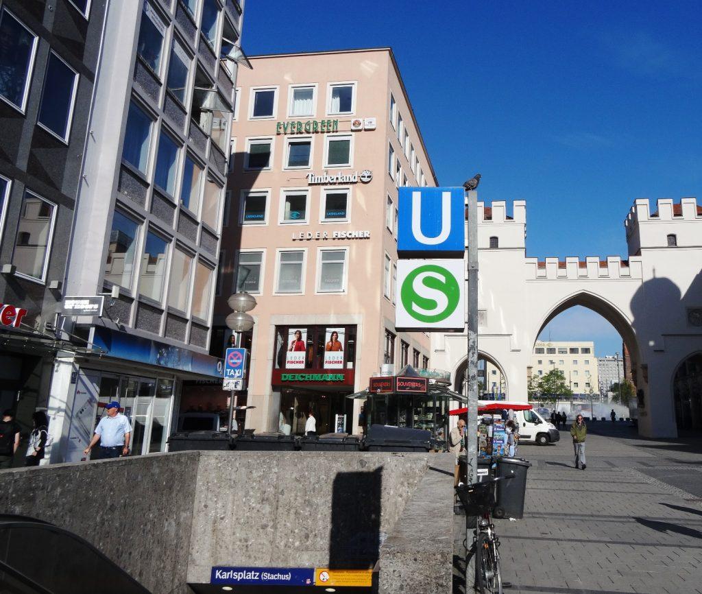 Karlsplatz, остановка S-Bahn и U-Bahn