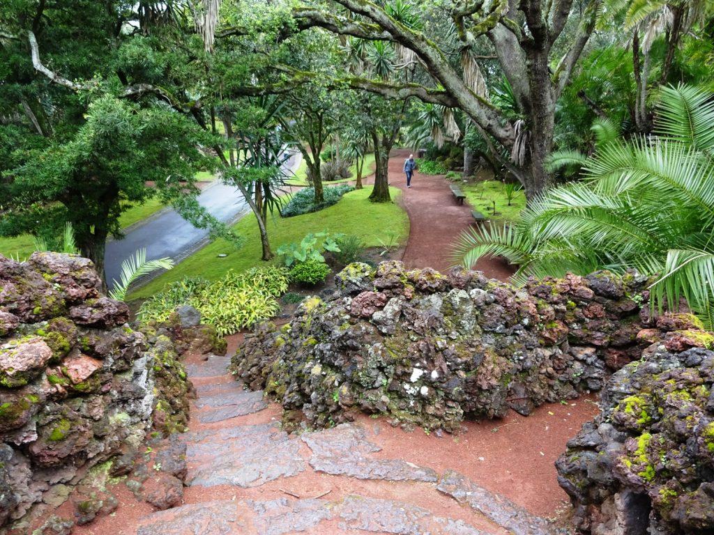 Парк в Понта-Делгаде разноуровневый