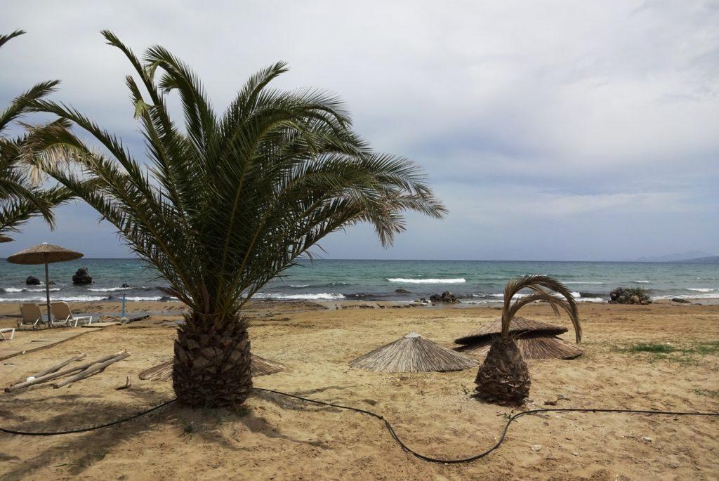 Около пляжа