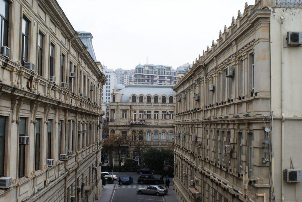 Вид из Крепости на обычные кварталы