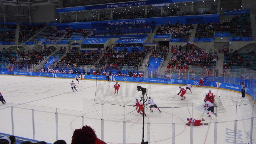 Матч Канада - Чехия за бронзу Игр