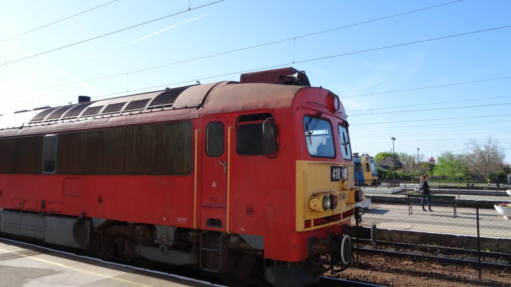 Сами поезда старые, но на качестве поездки это особо не отражается