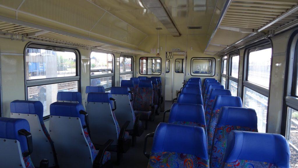 Почти пустой вагон