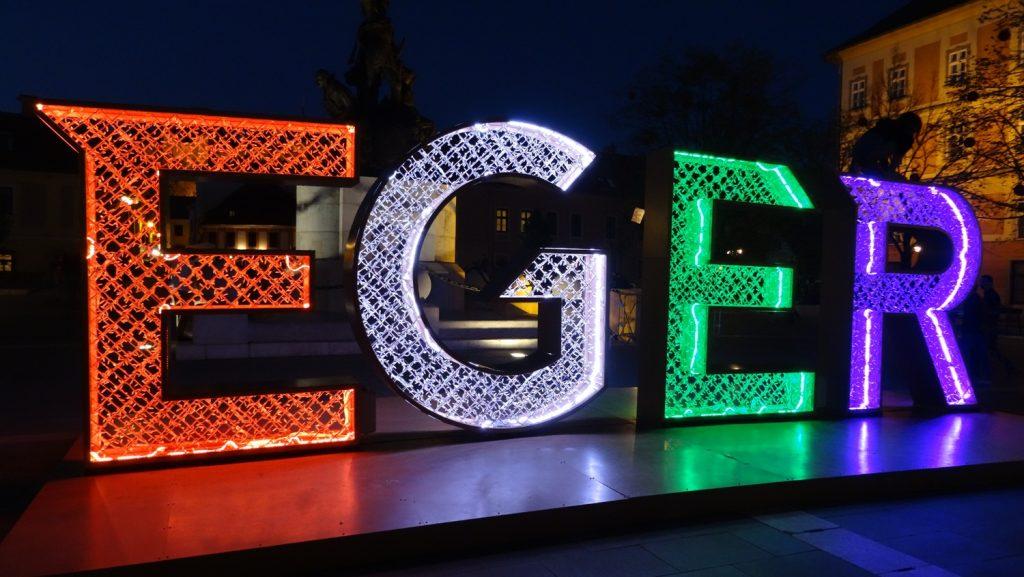 Буквы меняют цвет