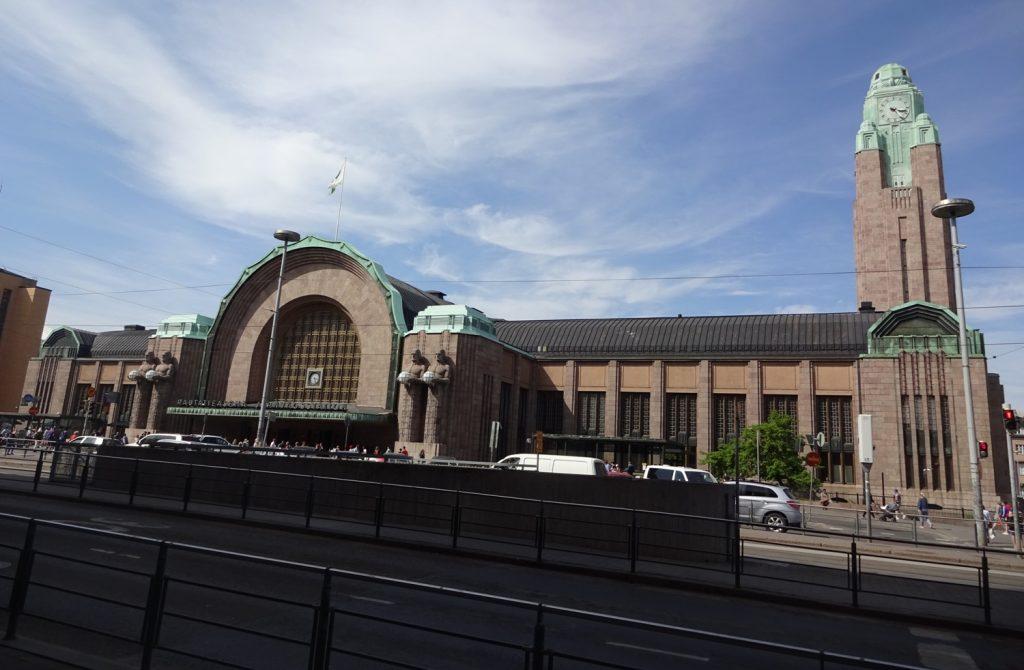 Вокзал Хельсинки