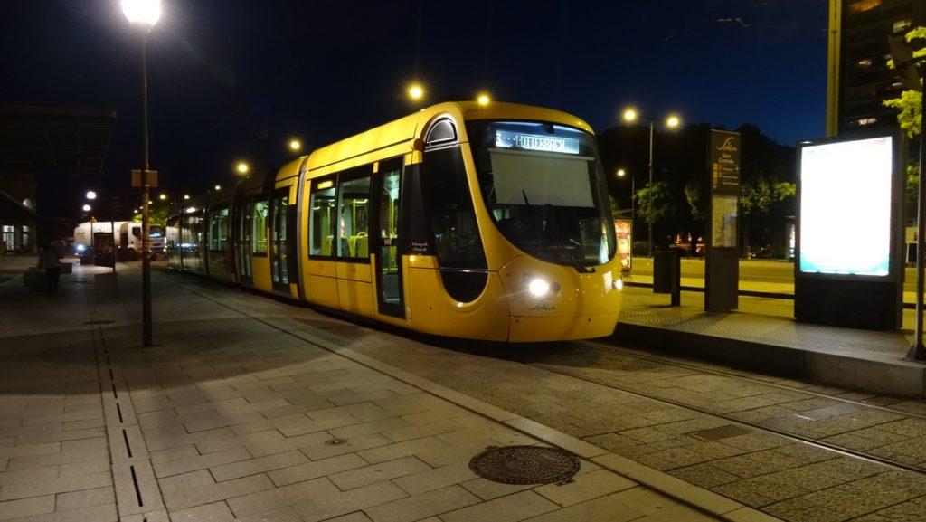 Симпатичные французские трамваи