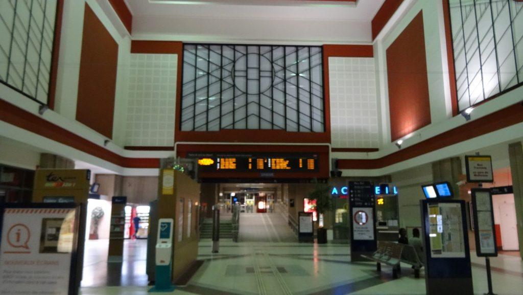 Вокзал, к счастью, открыт