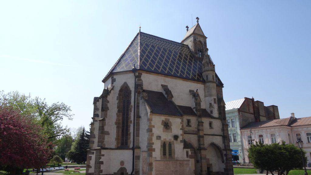 Kaplnka svätého Michala. Часовня, дополняющая красоту собора
