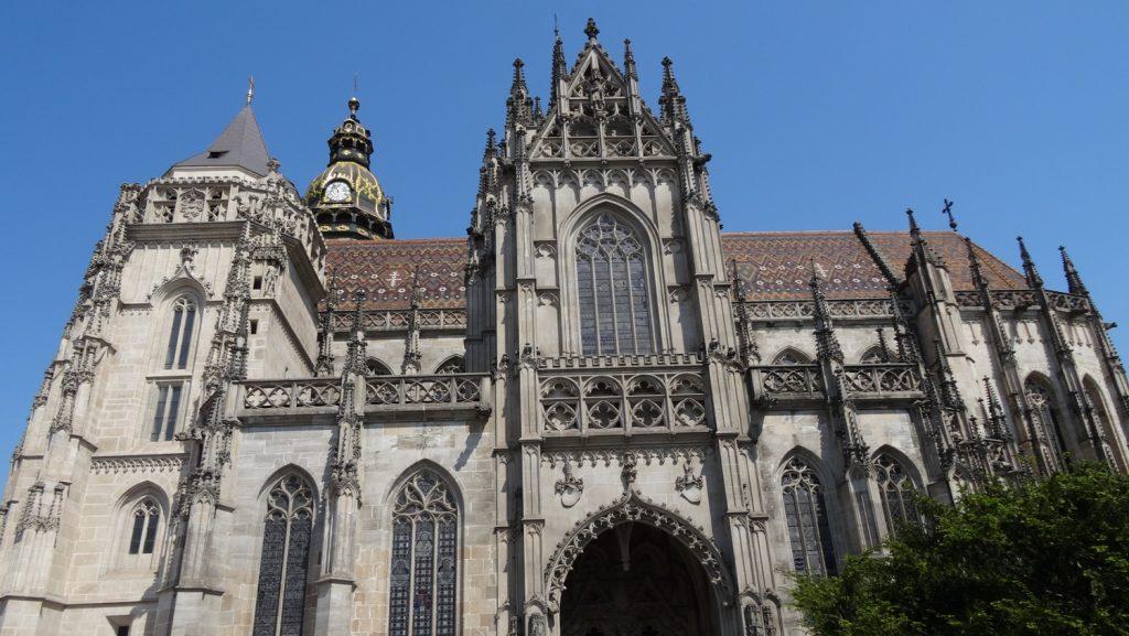 Собор Святой Елизаветы Венгерской (Dom svatej Alzbety). Это крупнейшая в Словакии церковь - очень впечатляющее здание