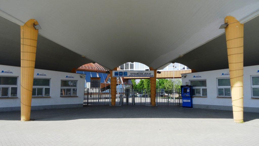 Aqua Palace Hajduszoboszlo. Почему-то не работал, хотя должен круглый год