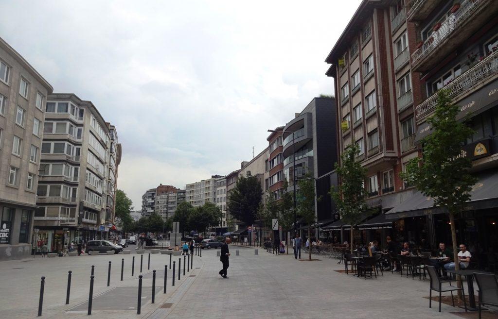 В Шарлеруа классные широкие улицы, для Европы - не так уж типично