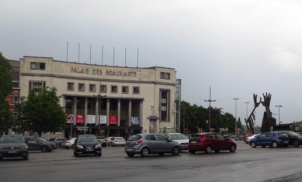 Самое странное здание Дворца искусств, которое мне приходилось видеть